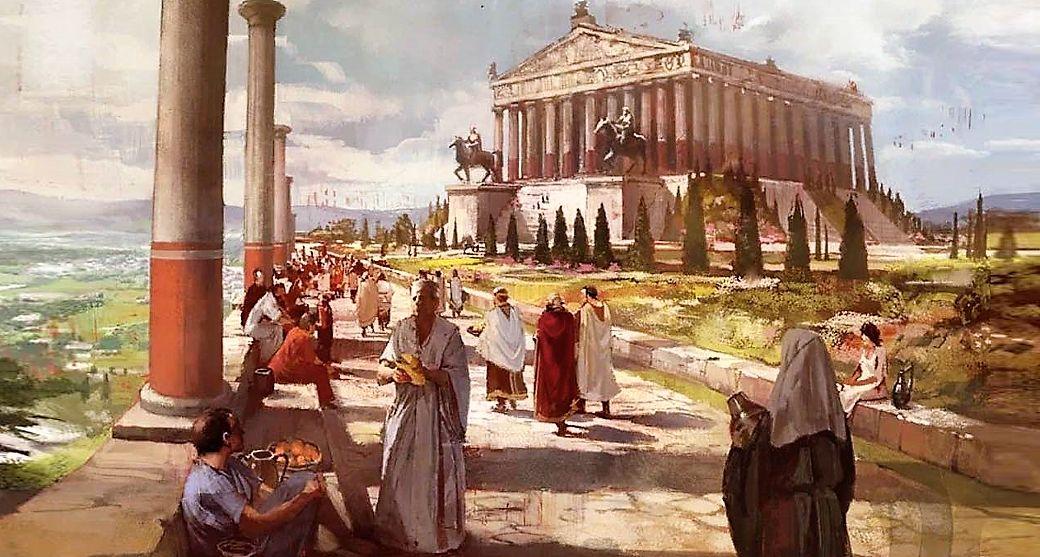 Древний храм Артемиды